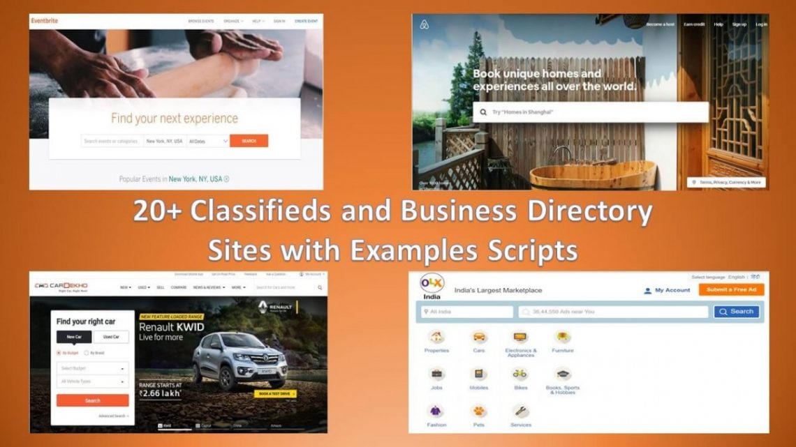 Difference of Online Classifieds and Business Directory with 20+ Live Examples and Scripts!